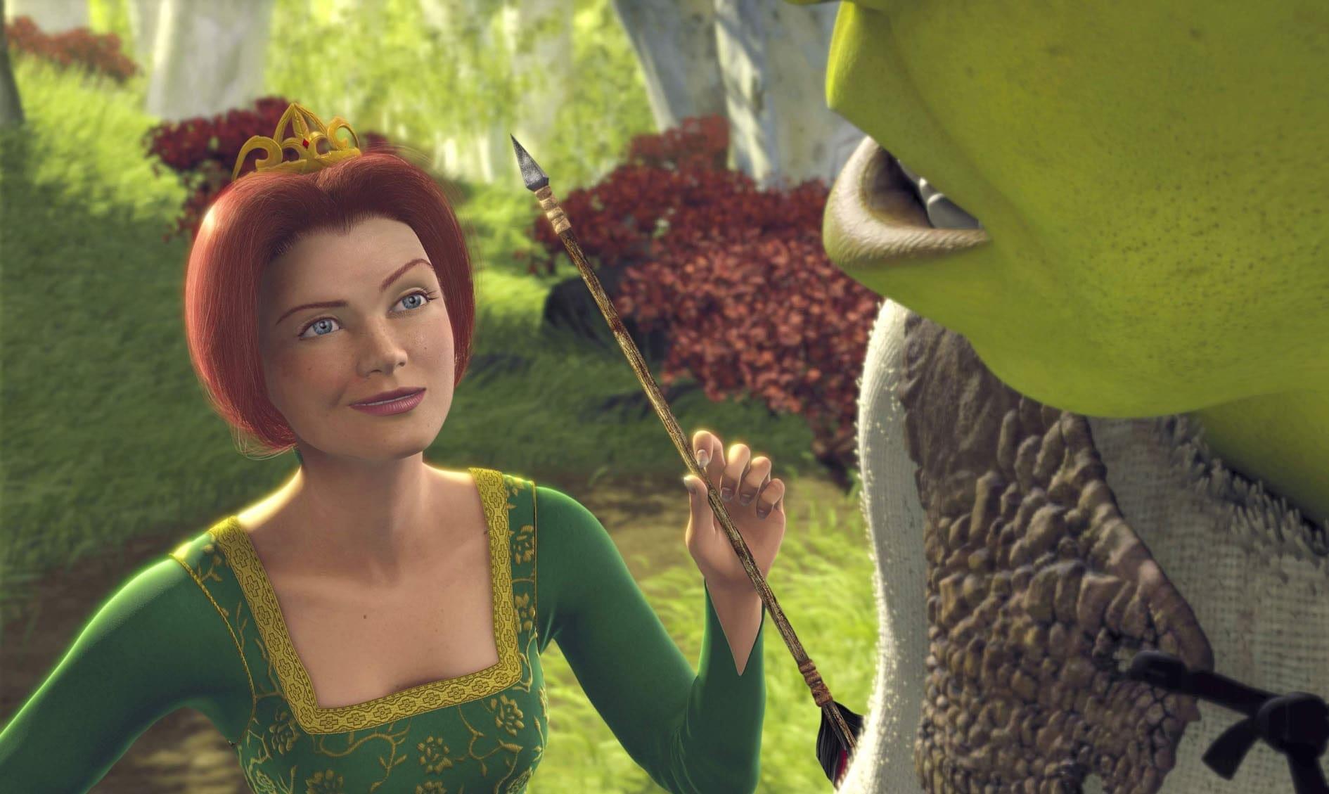 Cameron Diaz voices Princess Fiona in Shrek