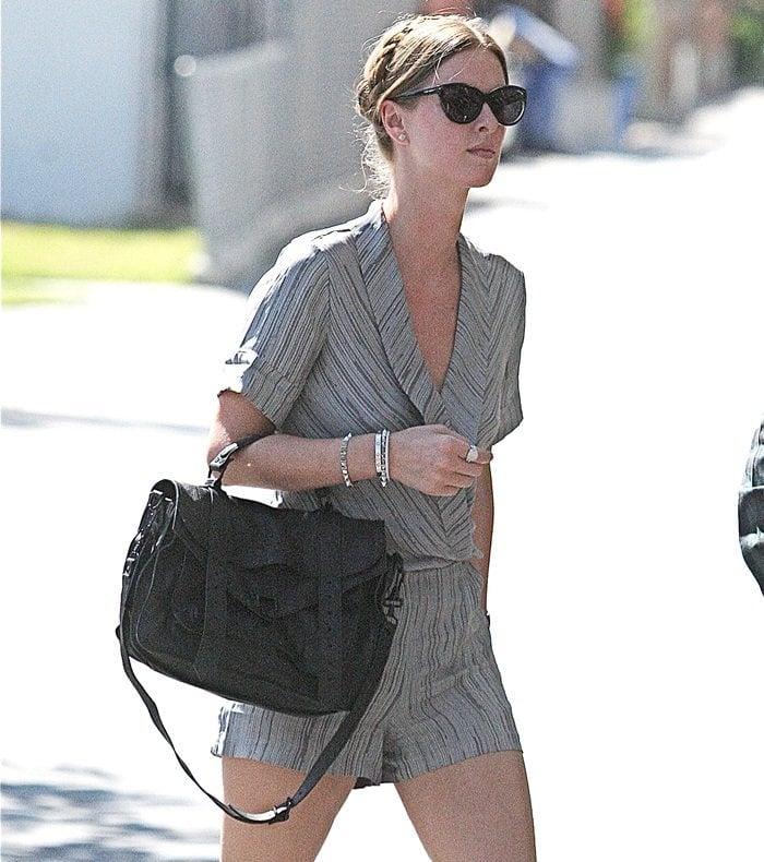 Toting Her Favorite Proenza Schouler Ps1 Handbag