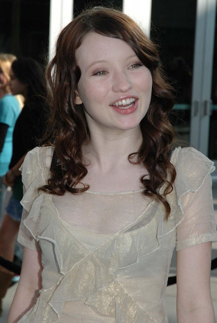Emily Browning at the premiere for Lemony Snicket's A Series of Unfortunate Events