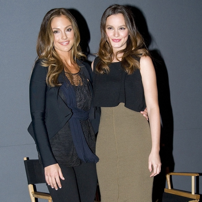 Leighton Meester was 24 and Minka Kelly 30 when their awful movie The Roommate was released on February 4, 2011