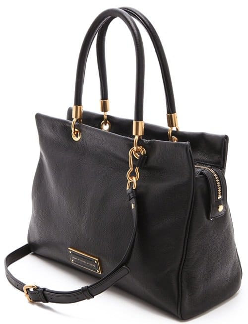 An optional adjustable strap makes for easy across-town carrying