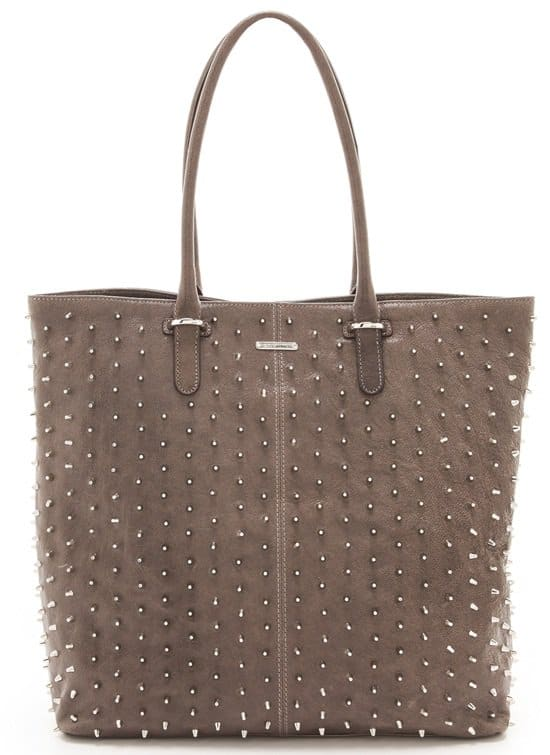 Rebecca Minkoff Diamond Quilt and Stud Lovers Tote