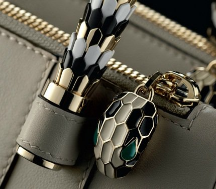 Up close and personal with the Serpenti details