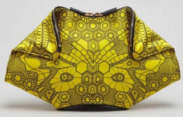 Alexander McQueen De Manta Bag in Butterfly