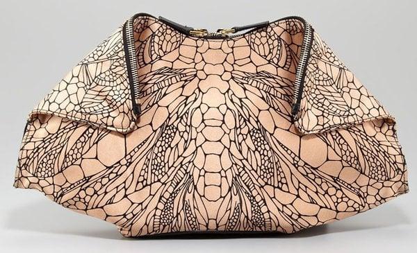Alexander McQueen De Manta Bag in Spine