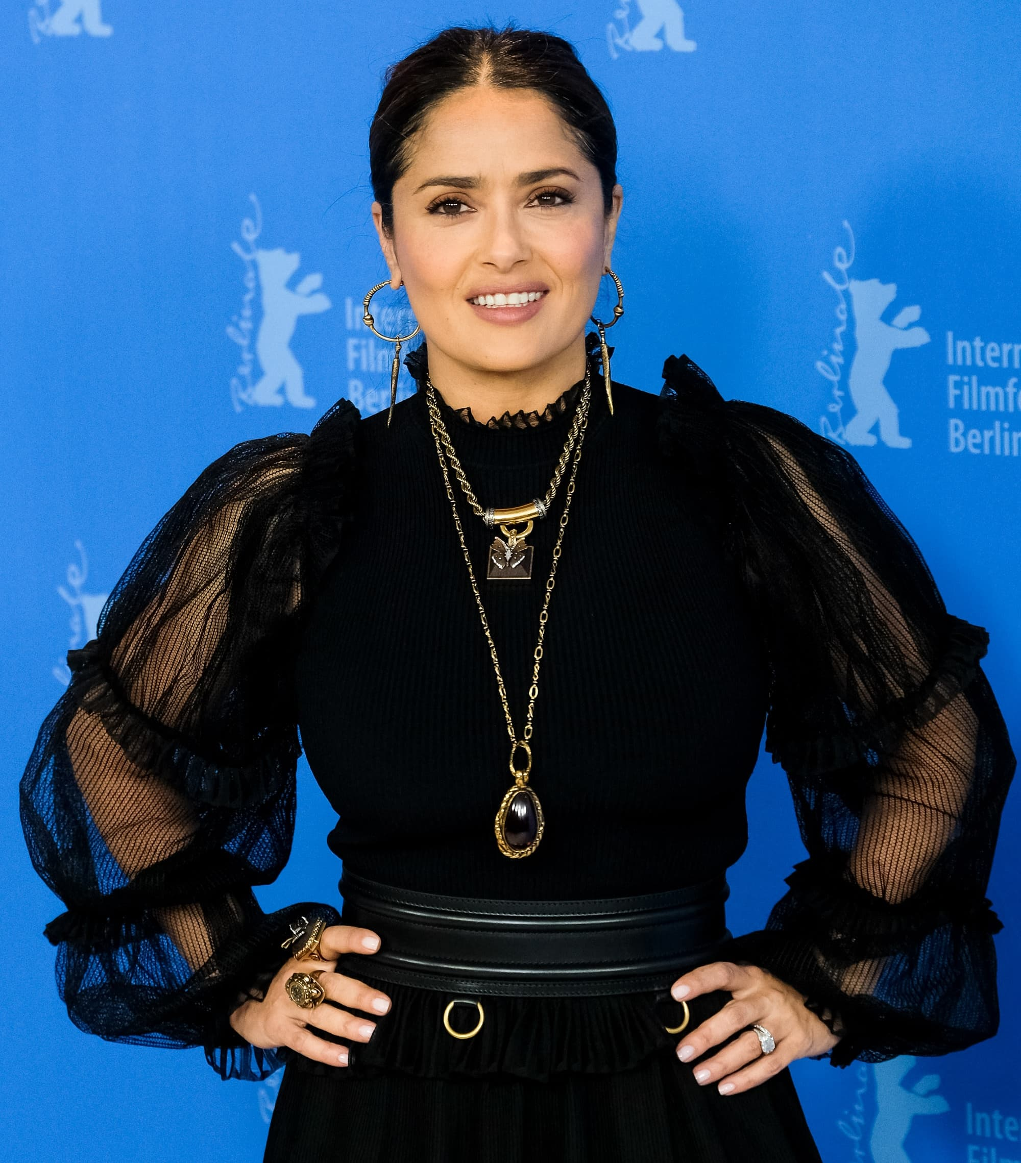 Salma Hayek is developing a comedy series about boobs
