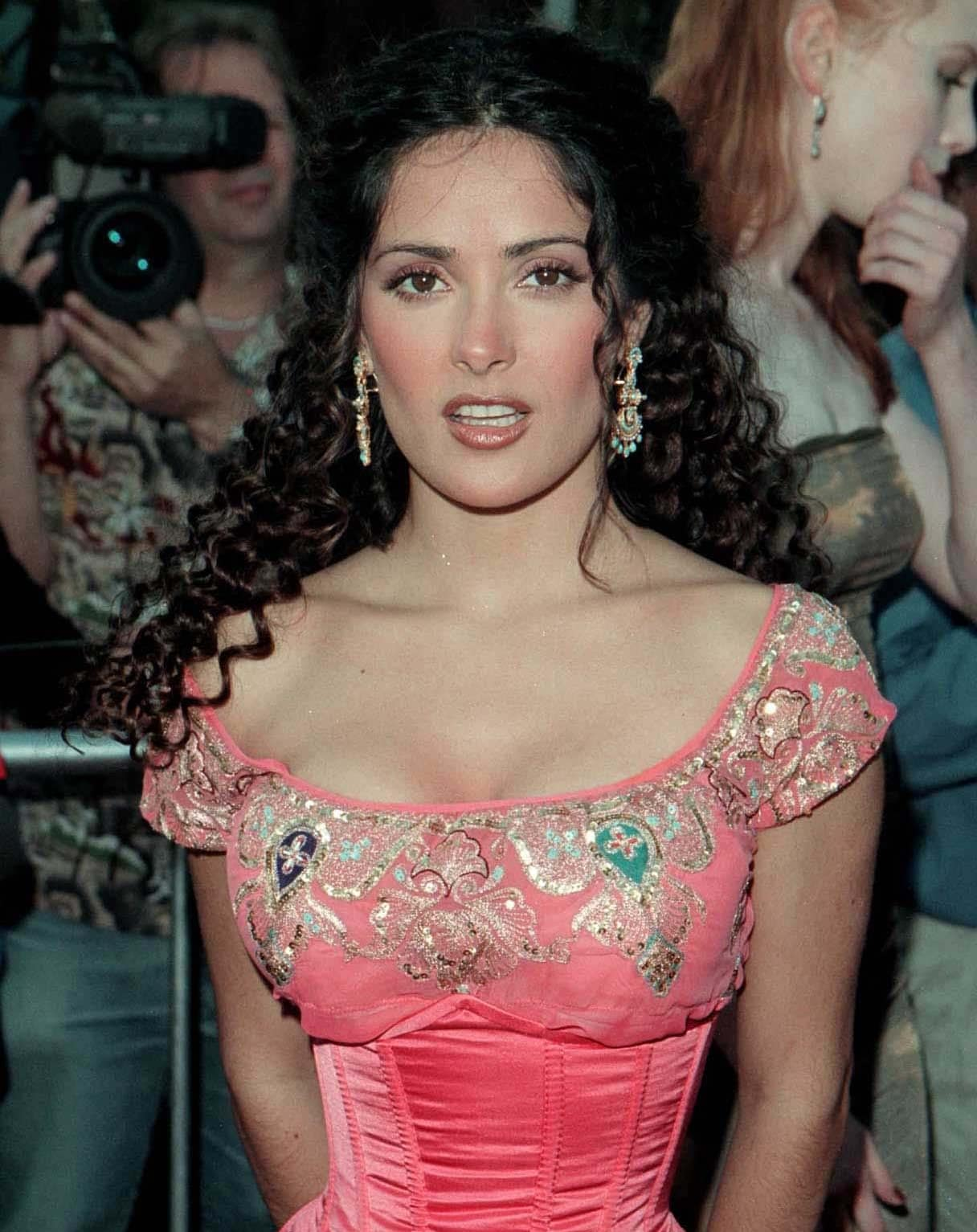 Salma Hayek is considered one of the sexiest celebrities in Hollywood thanks to her breast size