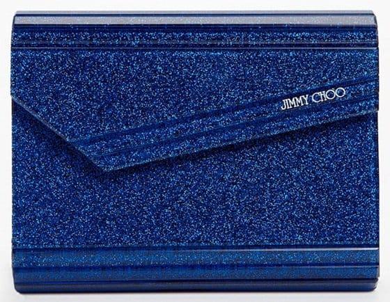 Jimmy Choo Candy Glitter Blue