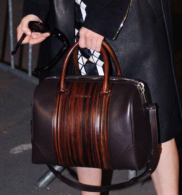 Amanda Seyfried toting a Givenchy Lucrezia bag