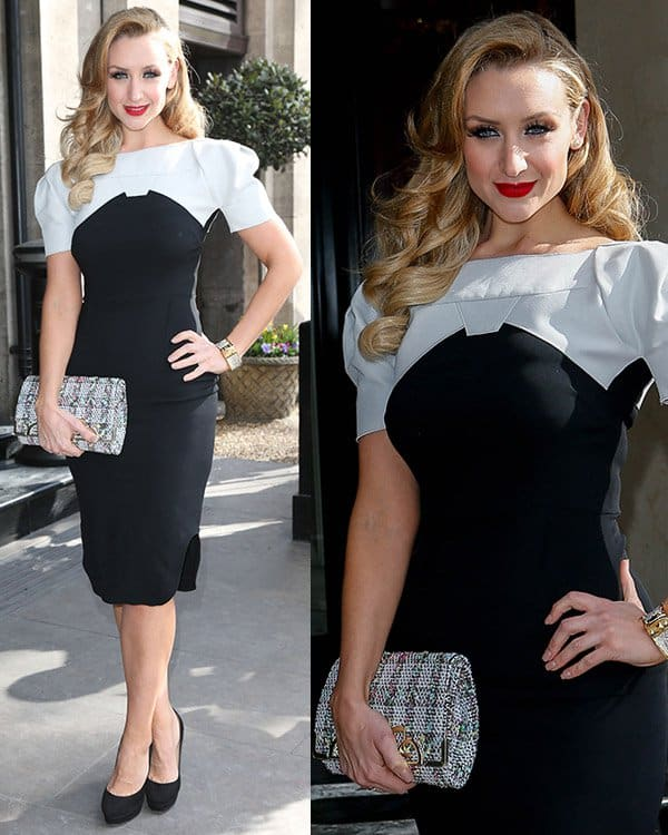 Catherine Tyldesley at the TRIC Awards 2013