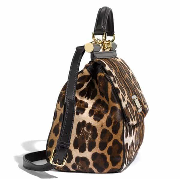 9837dc050de Coco Austin Looks Fiercer with Dolce   Gabbana Leopard-Print Bag