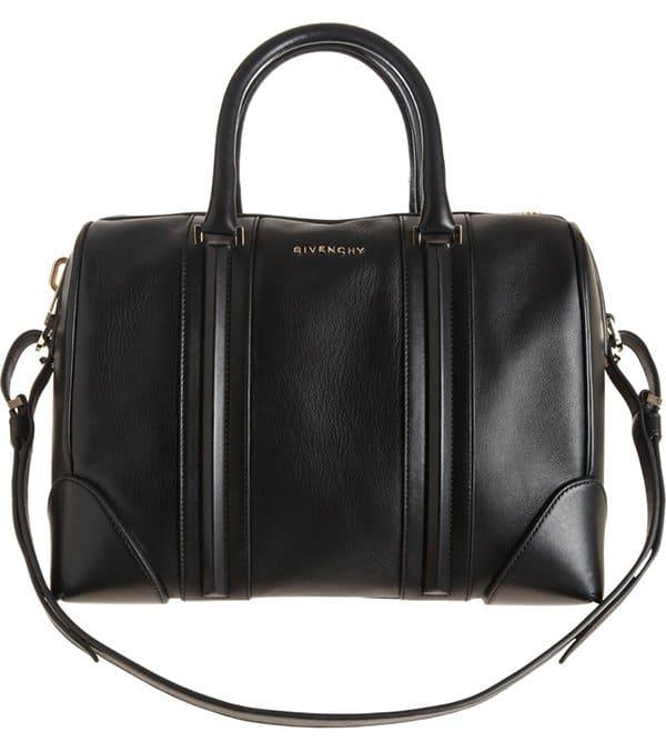 Givenchy Lucrezia Satchel Bag in Black