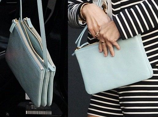 """Kourtney Kardashian's Celine """"Trio"""" bag"""