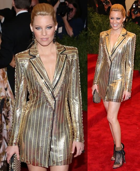 One of our favorite faces at the Met Ball was Elizabeth Banks