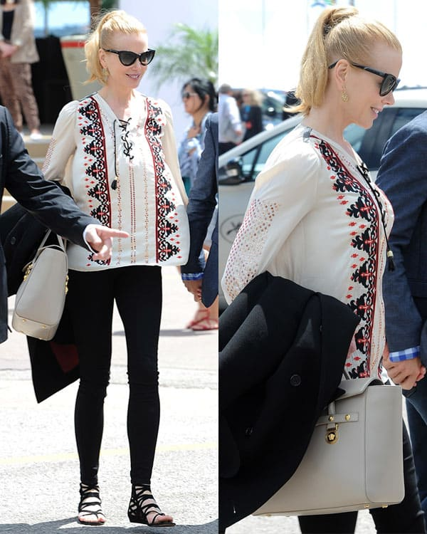Nicole Kidman out and about during the 66th Cannes Film Festival - Day 5 in Cannes, France on May 19, 2013