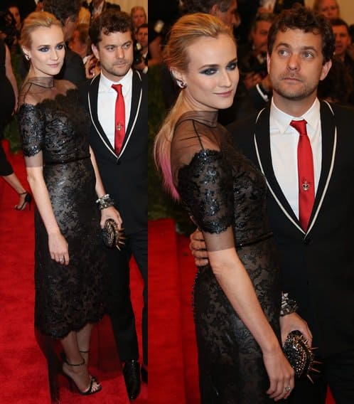 One of the best dressed at the Met was Diane Kruger