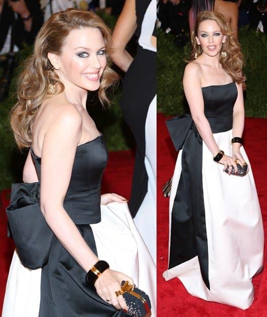 Kylie Minogue wore Moschino