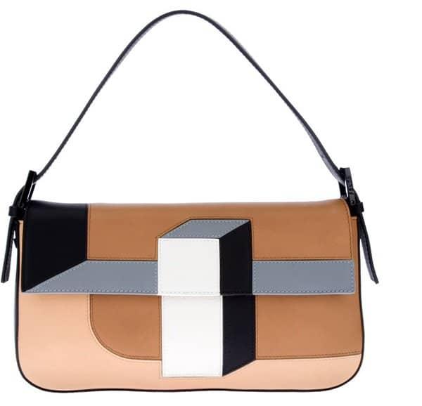 Fendi 3D Baguette Shoulder Bag