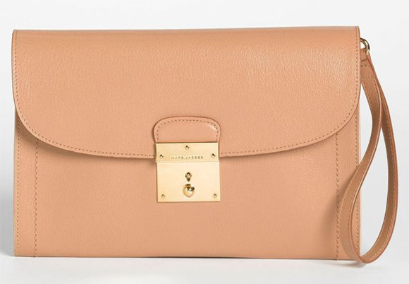 Marc Jacobs 1984 Isobel Leather Clutch