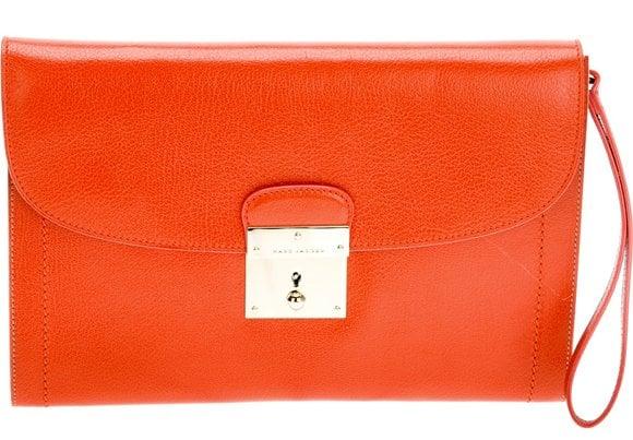 Marc Jacobs Isobel Clutch Orange