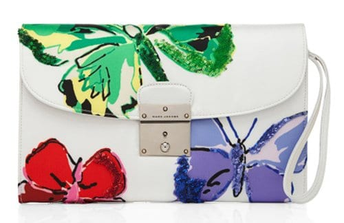 Marc Jacobs The Isobel Clutch White