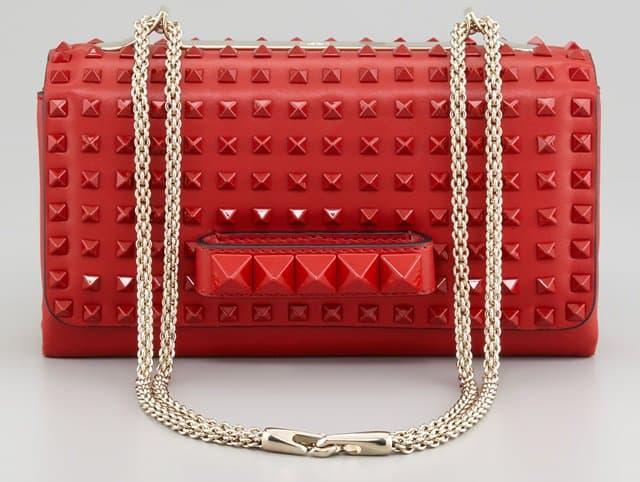 Valentino Rockstud Chain Flap Bag