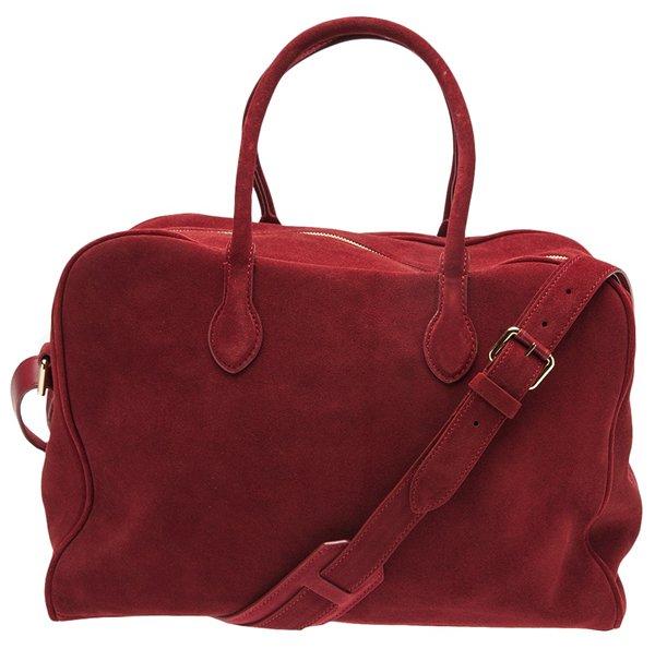 Balmain Duffle Bag in Cherry