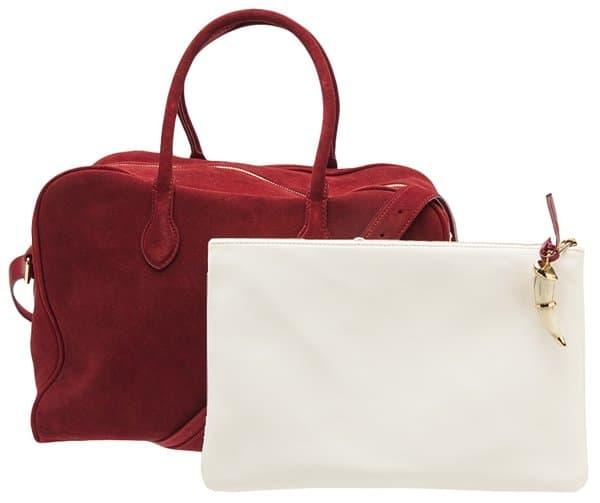 Balmain Duffle Bag in Cherry2