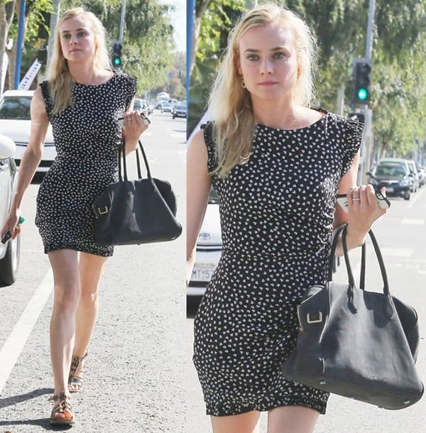 Diane Kruger out and about