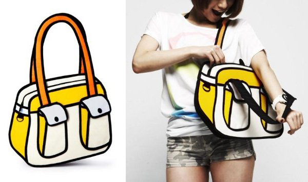 Jump From Paper Messenger Bag Bonjour