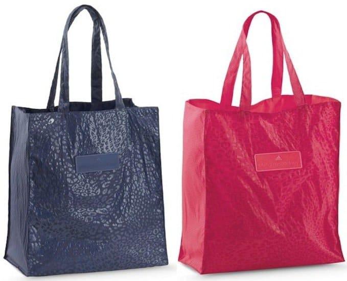 """Adidas by Stella McCartney """"Beach Fun"""" Bag in Blue and Fuchsia"""