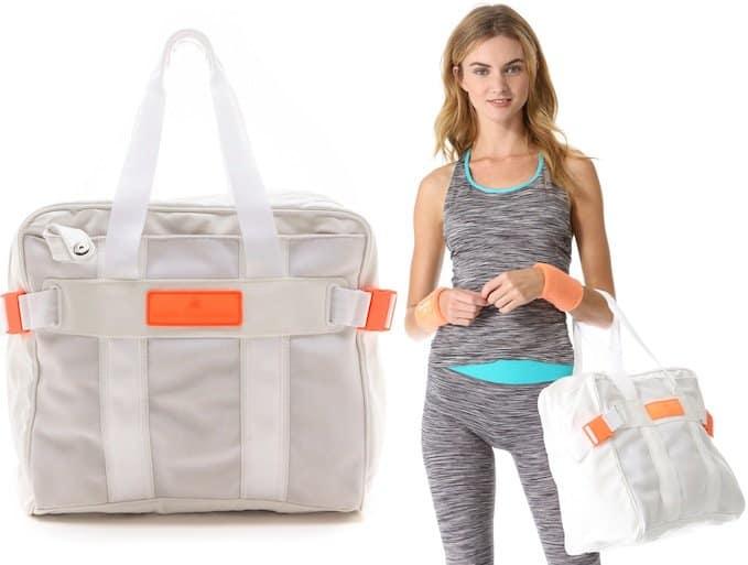 "Adidas by Stella McCartney ""BA Tennis"" Bag in Bright White"
