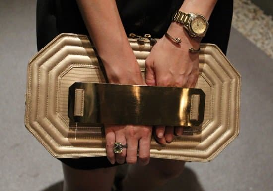 Elaine's one-of-a-kind clutch