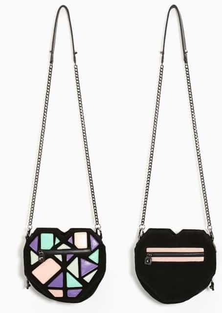 Mata Hari X Love+Made Heart Leather Bag