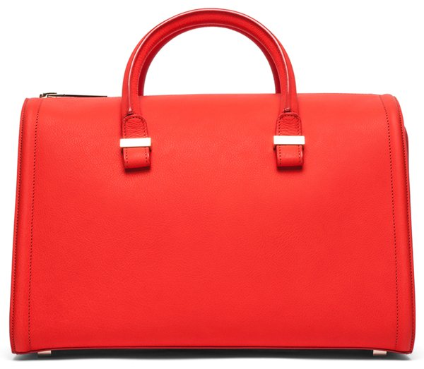 Victoria Beckham The Victoria Mini Tote Sunset