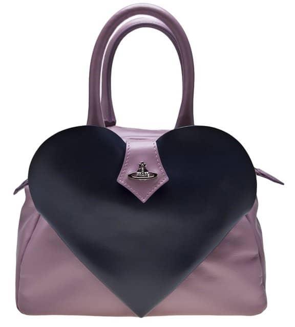 Vivienne Westwood Heart Flap Bag