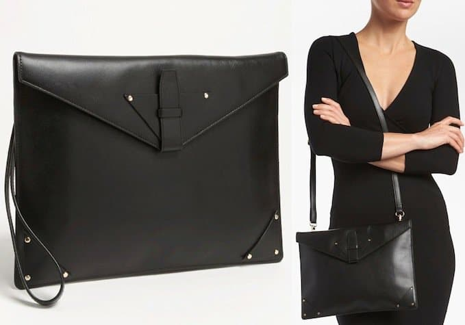 halogen-leather-clutch