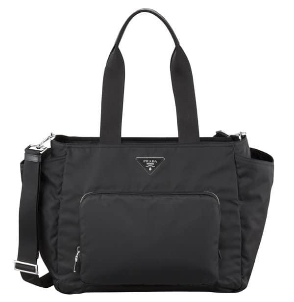 Prada Vela Nylon Baby Bag