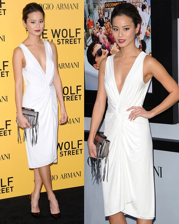 Jamie Chung The Wolf Of Wall Street premiere