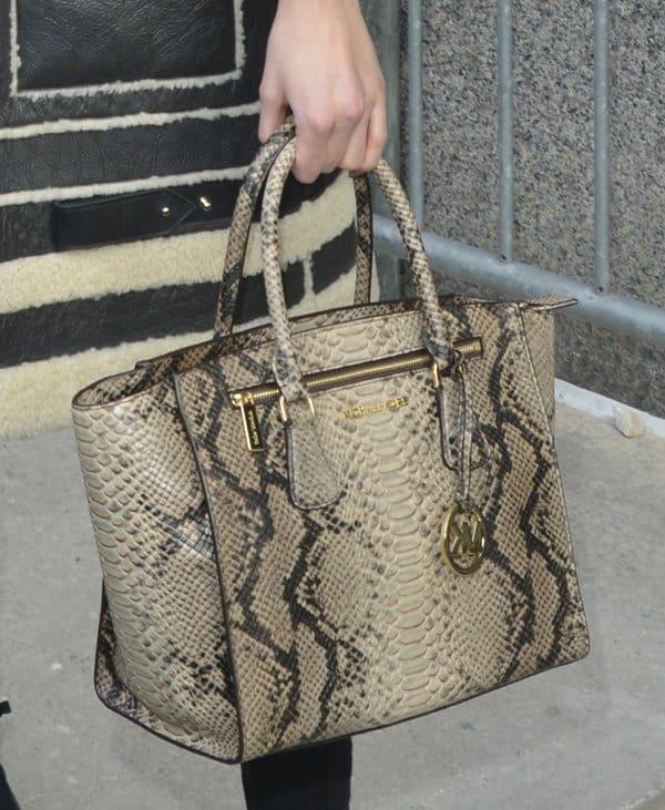 Karlie Kloss Michael Kors Bag