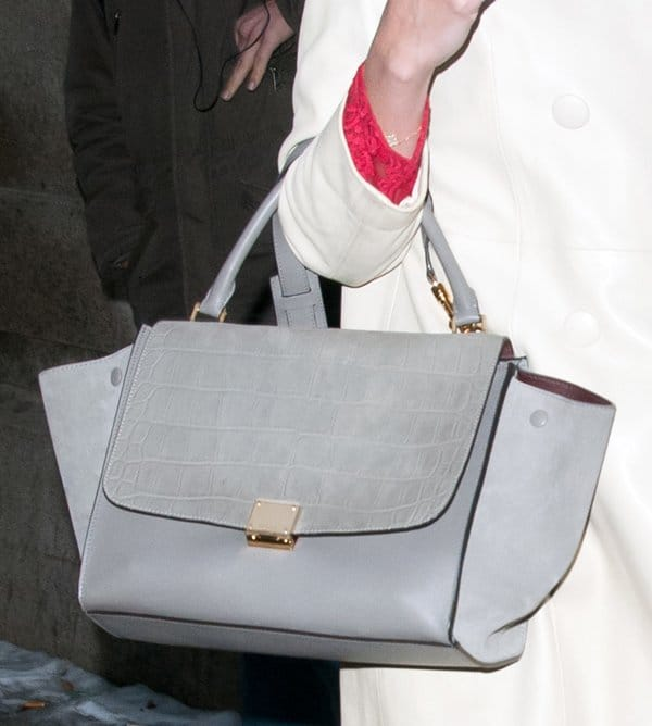 NYFW Bags Katie Holmes2