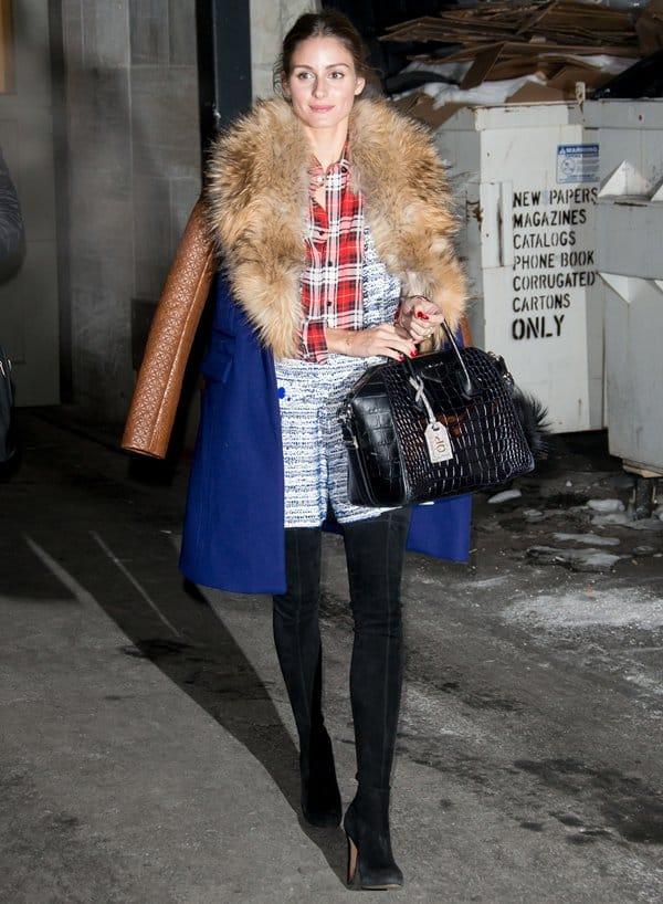 NYFW Bags Olivia Palermo