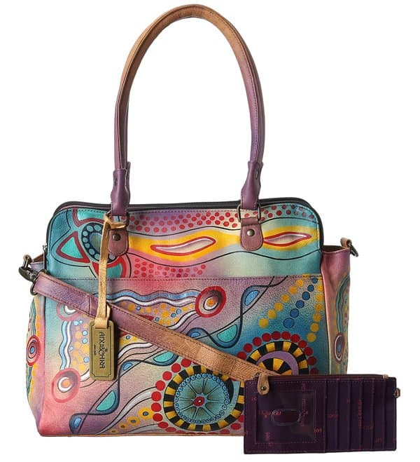 Anuschka Tribal Sunset Handbag