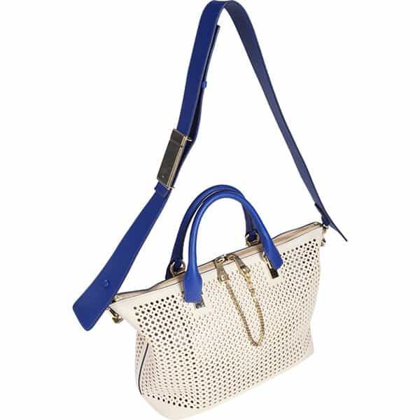 This Chloe Baylee bag offers endless options with a spacious interior and your choice of top handles, shoulder, or crossbody strap