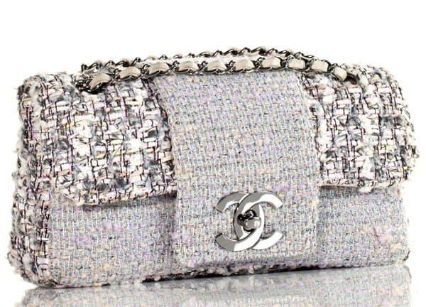 Chanel Tweed Classic Fantasy Bag