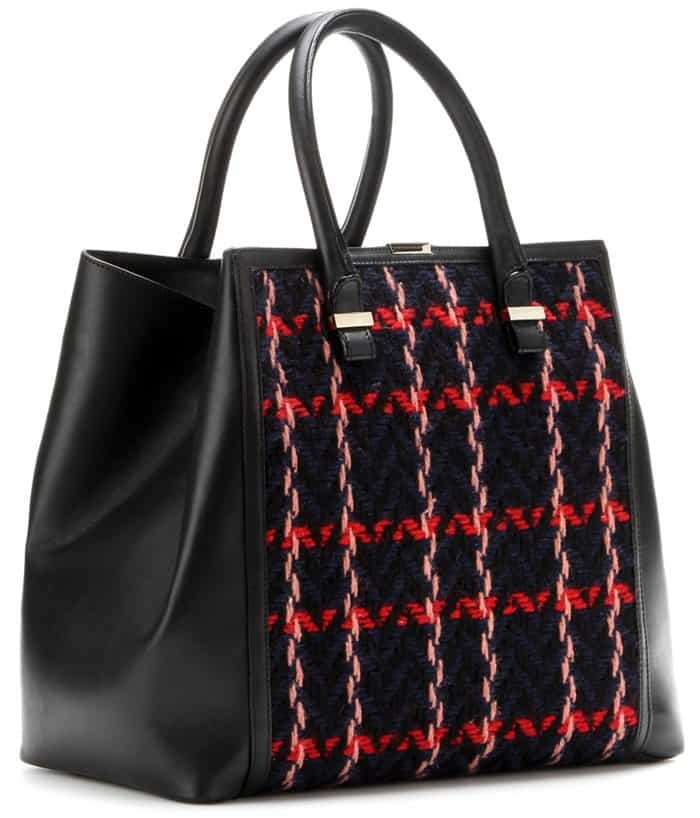 Victoria Beckham Liberty Embroidered Tote2