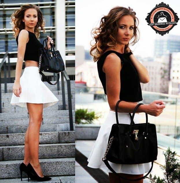 anna gotsyk dream love shop blogger street style black and white 2-horz