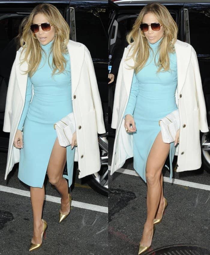 Jennifer Lopez Vince Clutch7