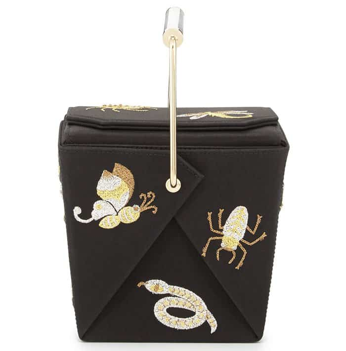 Charlotte Olympia Take Me Away Clutch Black