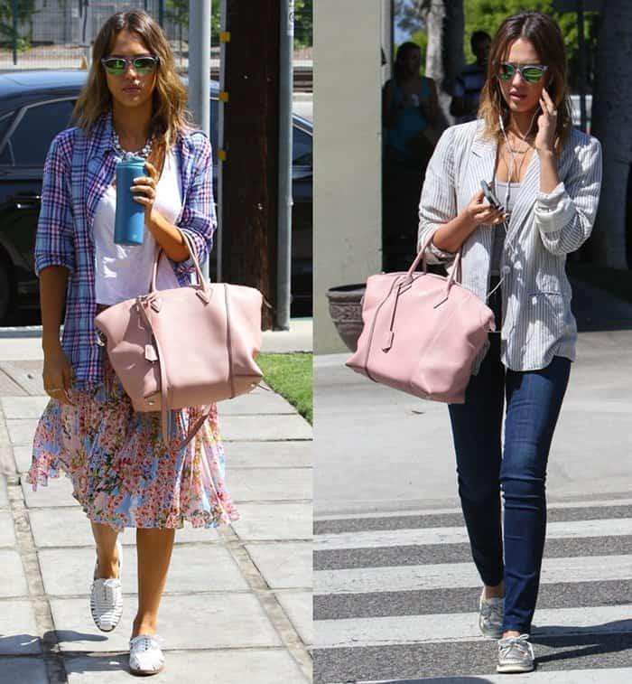 2014 Bag Moments - Jessica Alba
